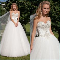 Find More Wedding Dresses Information about Elegant Off The Shoulder Sweetheart White Tulle Luxury Wedding Gowns 2015 Pearls Puffy Tulle Ball Gown Bride Dresses Custom made,High Quality gown pajamas,China dress up clothes women Suppliers, Cheap dress bath from xlbutterfly on Aliexpress.com