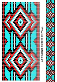 Bien connu Free Native American Beadwork Patterns | Re:Possibles Bags  RJ31