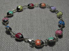 14k Gold Ladybug Bracelet