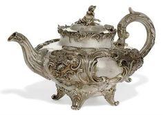 silver tea pots - Google Search