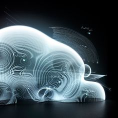 Immateriality as material: Visualizing electromagnetic fields full of data