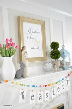 Free Printable Easter Sign - The Idea Room