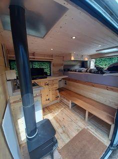 L2H1 Campervan Ideas, Kitchen Island, Home Decor, Island Kitchen, Decoration Home, Room Decor, Home Interior Design, Home Decoration, Interior Design
