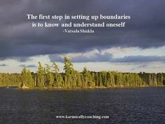 The first step in setting up boundaries is to know and understand yourself RT/Share if you agree