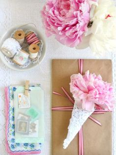 Mothers Day Gift Wrap Inspiration