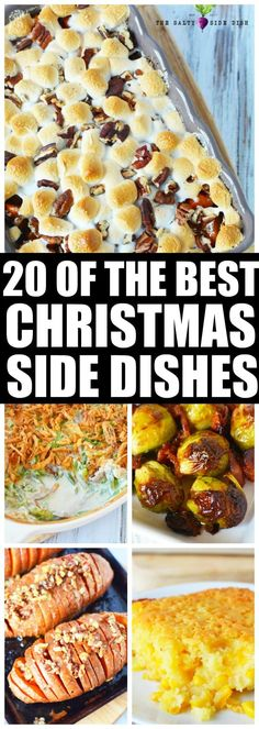 Four Kitchen Decorating Suggestions Which Can Be Cheap And Simple To Carry Out 20 Of The Best Christmas Side Dishes Traditional Christmas Side Dish Recipes Christmas Dinner Side Dishes, Thanksgiving Side Dishes, Holiday Dinner, Thanksgiving Recipes, Thanksgiving Holiday, Holiday Recipes, Dinner Recipes, Dinner Ideas, Christmas Brunch