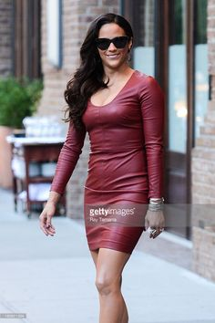 Actress Paula Patton leaves her Tribeca hotel on September 18, 2013 in New York City.