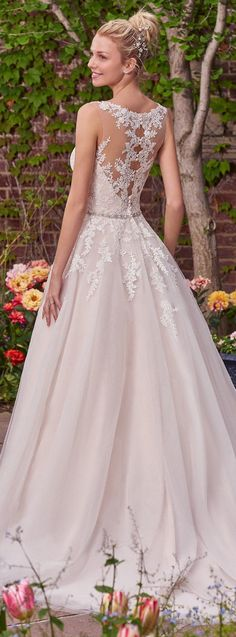 Wedding Dress by Rebecca Ingram - Olivia | Less than $1,000 | #rebeccaingram #rebeccabride