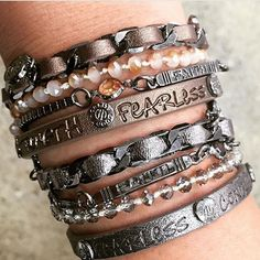 Inspiring bracelets from @goodworksmove make perfect gifts!