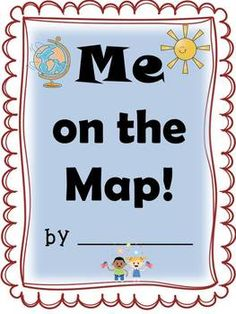 Freebie me on the map activity book and quiz the last two pages updated 7713 this is a great booklet for students to learn about their town state country continent the oceans and world they fill in each name gumiabroncs Images