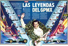 Conoce a los 13 pilotos que han logrado coronarse en el Gran Premio de México
