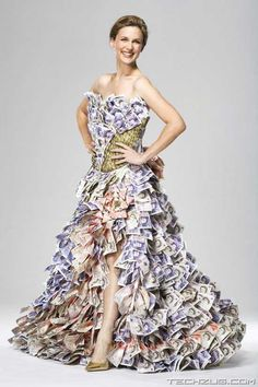 Most Amazing Million Dollar Dress | Silverlight