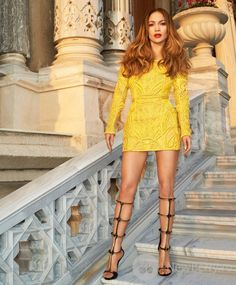 Jennifer Lopez для журнала Harper's Bazaar US