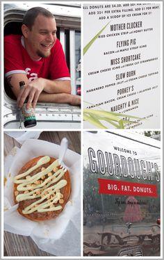 Gourdough's Food Truck in Austin, Texas  #foodiegems.com
