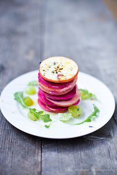 Apple Beet Grape Salad with Simple Dressing - Recipe