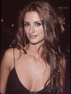 The most beautiful actresses in the world brunettes Penelope Cruz