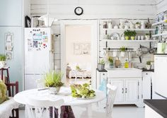 Lovely kitchen chock full of charm. Come by for a visit! Decor, Home Kitchens, House Design, Sweet Home, Cottage Living, Interior, Home Decor, House Interior, Diy House Renovations