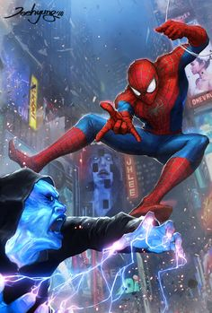 Spider-Man Vs. Electro | JeeHyung Lee