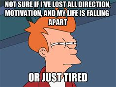 Pretty much my life the past two or three weeks.