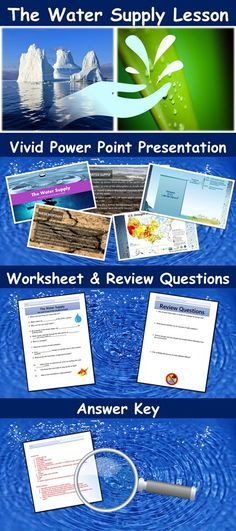 Solid Waste Management Lesson with Power Point, Worksheet, and