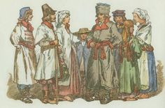 Polish country folk, 1590-1630.