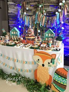 Woodland Birthday Party Ideas | Photo 1 of 32 | Catch My Party