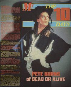 Pete Burns, Teased Hair, Billy Idol, Freddie Mercury, Music Artists, Singer, Guys, Peeps, Icons