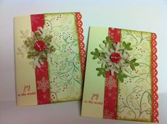 handmade christmas cards | Adornments by lisa: Handmade Christmas cards