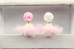 DIY: Cupcake Tutus and Tulle Pom Pom Wands