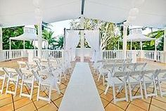 Sarayi, Palm Cove. An ideal venue for many reasons. The catering is provided by NuNu Restaurant, voted 38th of Australia's Top 100 restaurant's by Gourmet Traveller, for one. Secondly, it's only metres from the beach. It's an ideal wedding venue as it offers a perfect contingency plan should your beach wedding fall foul of the weather.