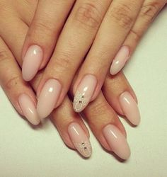Nude with lace print