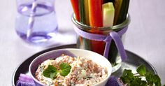 The best Lentil dip with crudités recipe you will ever find. Welcome to RecipesPlus, your premier destination for delicious and dreamy food inspiration. Lentil Recipes, Lentils, Sour Cream, Food Inspiration, Feta, Cucumber, Dips, Appetizers, Vegetarian
