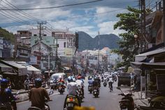 Vietnamese Roads - Crazy and busy roads of Vietnam. There are no road rules, so…