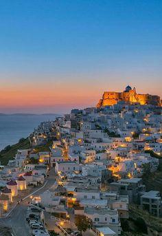 Astypalea Greek Beauty, Athens Greece, Greece Travel, Greek Islands, Seattle Skyline, San Francisco Skyline, World, Places, Nature
