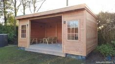 Tuinhuis - Douglas - made by Johnnyblue.nl Shed, Outdoor Structures, Barns, Sheds