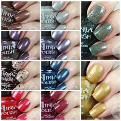 Nothing Stays in Vegas collection, available now on NinjaPolish.com. Swatches courtesy of Love for Lacquer (scheduled via http://www.tailwindapp.com?utm_source=pinterest&utm_medium=twpin&utm_content=post9920558&utm_campaign=scheduler_attribution)