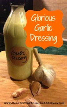 Glorious Garlic Dressing