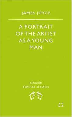 A Portrait Of The Artist As A Young Man -- James A. Joyce. This book will tear your soul in half and make it into something better.
