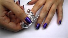 UPDATE: Hey guys! I just did one nail in the video for you as a demonstration. You will want to do all your nails at once. That way, once you get to wrapping...