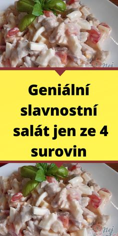 Slovak Recipes, A Table, Salads, Food And Drink, Beef, Healthy Recipes, Chicken, Dressmaking, Lasagna