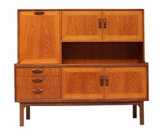 Contemporary Oak Sideboard Available for Sale. Shop 1970s G plan teak sideboard /wall unit, Buffet sideboard exceptional quality, solid teak wood with a light golden glow.