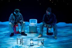 almost, maine. The ice/snow looks so nice! Lynn University, Maine In The Fall, Teaching Theatre, Northern Maine, Fall Shows, Pre Production, New York Post, Set Design, Small Towns