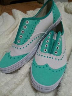 Classy Painted Shoes