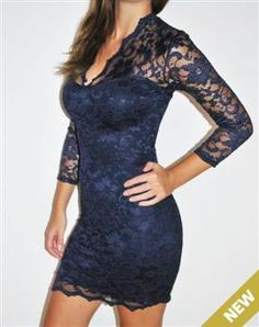 scalloped lace dress | Lace Bodycon Dresses | Going Out Dresses | Bodycon Boutique