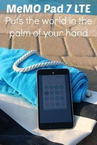#tech Put the World in the Palm of Your Hand with the MeMO Pad 7 LTE