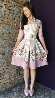 Oct 2019 - 56 Spring Dresses To Copy Asap Dresses Dress Outfits, Casual Dresses, Short Dresses, Pretty Dresses, Beautiful Dresses, Modest Fashion, Fashion Dresses, Trend Fashion, Moda Vintage