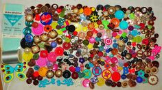 .25 CENTs Antique Vintage Retro Buttons, .Thread, Wrights Seam binding, Sewing LOT