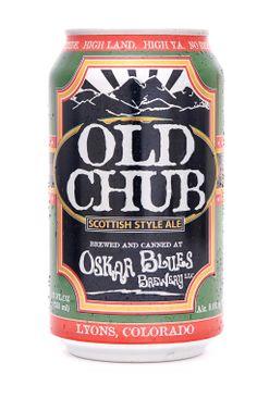 OSKAR BLUES BREWERY Old Chub Scotch Ale PATCH iron on craft beer brewing Verzamelingen Reclamevoorwerpen