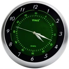 Relógio de Parede Yins YI15082 Fluorescente 30cm - Megazim
