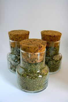 Gourmet Gift, # Greek herbs,  #oregano, #sage, #mint,  #Set of 4 design Jars filled with herbs by VintageNatureGreece https://www.etsy.com/shop/VintageNatureGreece
